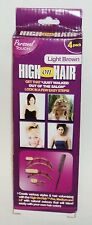 High On Hair Volume 3 Piece Set Light Brown NIP