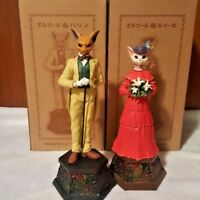 Studio Ghibli Whisper of the Heart Set of Baron & Luise Music Box Benelic NEW JP