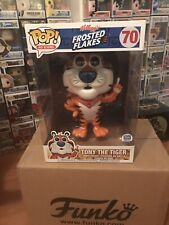 "Funko Pop!Tony the Tiger Ad Icons Frosted Flakes Cereal 10"" Super Size• In Hand"