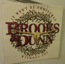 BROOKS & DUNN POSTER AD SLICK  ROCK  2004 RECORD STORE PROMO  DISPLAY  OXYGEN
