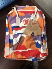 New listing Fjallraven Kanken Medium Multi Color Backpack Mwt