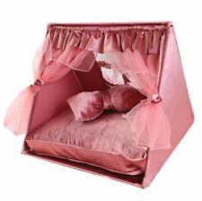 New Princess Handmade Curtain Pet Dog Cat Bed House Sofa Frame Bed Mat Cushion