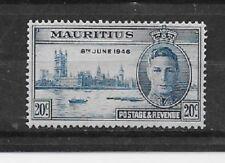 MAURITIUS Stamps- Scott # 224/CD303-20c-Mint/LH-1946-OG