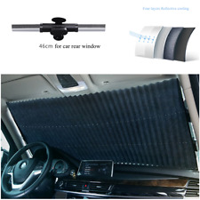 Car Retractable Curtain UV Protection Front Windshield Sun Visor Aluminium alloy