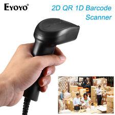 Eyoyo Barcode Scanner Strichcode Data Matrix 2D CCD Reader für XP Linux Mac OS
