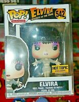 Funko Pop! Television #542 Elvira  (Hot Topic Exclusive) FREE S/H
