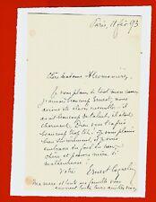 CO78/D-L.A.S-COQUELIN CADET-ERNEST-ACTEUR-ÉCRIVAIN-1893