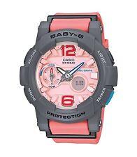 Casio Baby-G * BGA180-4B2 Anadigi G-Lide Grey & Peach Women COD PayPal
