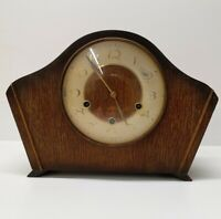 Vintage Mantle Clock , Art Deco Smiths 8 Day Westminster Chimes C:-1940s