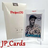 Topps Project 70 Card 70 - 1969 Lou Gehrig by Lauren Taylor - IN HAND - BOXED 🎗