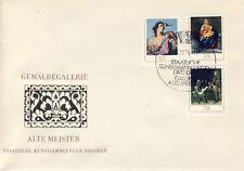 Ersttagsbrief DDR MiNr. 2193, 2194, 2198, Staatliche Kunstsammlungen Dresden, Ga