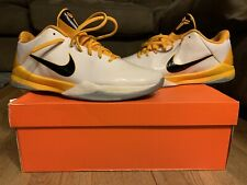 Nike Zoom Kobe 5 White/ Del Sol