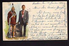 INDIEN chef indien et son fils - chef KITTAHOOK W. POllock