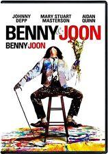 BENNY AND JOON (BRAND NEW DVD) JOHNNY DEPP,MARY STUART MASTERSON,AIDAN QUINN