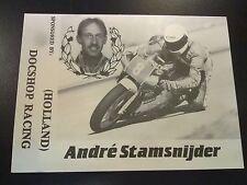 Docshop Racing 1988 250cc Wegrace André Stamsnijder