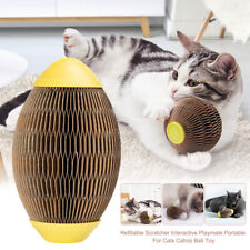 Refillable Scratcher For Cats Claw Polishing Reduce Obesity Catnip Ball Toy
