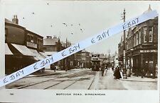 More details for borough road, birkenhead, wirral. real photographic postcard.