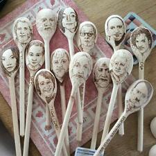 pyrography spoon portraits made to order!