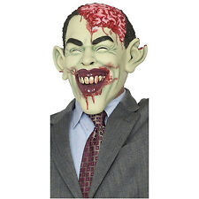 Zombie in Charge Adult Mask Gory Obama Mask