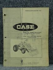 Oem Factory Case 42 Front Loader For 530 Sl Tractors Parts Catalog Manual A900
