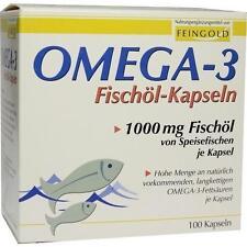 OMEGA 3 Fischöl Kapseln 100 St