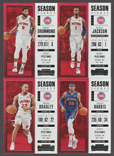 2017 2018 PISTONS 20 Card Lot w/ PANINI CONTENDERS TEAM SET (13) 2017-18 Players