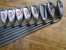 Pré aimait Slazenger Firesteel Golf Fers ~ 4-SW ~ 9 Fer dosnt match!!! ~ Reg