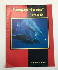 """US Divers 1960 """"Aqua-lung"""" Vintage Diving Catalog"""