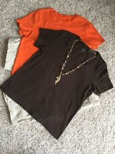 Women's Chico's Sz 2.0 Collection: 2 Tops; Shorts; NWOT Necklace.