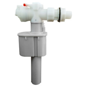"""Toilet Cistern WC Side Entry Inlet Fill Valve 1/2"""" Plastic Thread"""