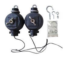 YoYo Easy Rollers Roll Grow Tent Ez Light Hangers Reflector Lamp Hanger (Pair)