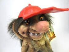 Original Handmade NyForm Norway Troll w/ Red Hat