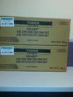 PREMIER BRAND SHARP AR 287 / 407/335/250 TONER