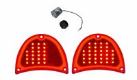 United Pacific 32 LED Sequential Tail Light Set For 1957 Chevy Bel Air 150 210