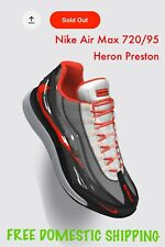 Nike Air Max 720 95 Heron Preston By You 9.5 Mens Extremely Rare NikeID Sold Out