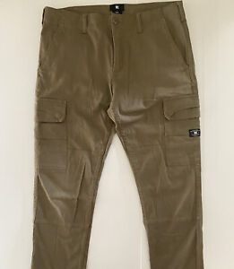 DC Shoes Cargo Pants W30 L31 Taper Khaki Tan Cargo Pants