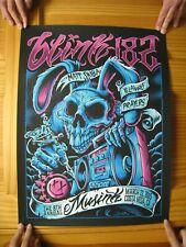 Blink 182 Poster Blink182 Blink-182 Costa Mesa March 22 2015 Matt Skiba