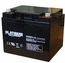 Platinum 12V 50AH (replaces 40ah & 42ah) Mobility Scooter Battery    V