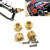 4PCS/SET Heavy Duty 12mm Thick 12mm Hex Wheel Hubs For TRX-4 1:10 RC Crawler Car