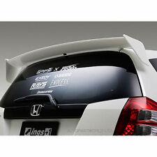 2008 - 2012 2013 Honda Fit Jazz GE Rear Wing Roof Spoiler Unpainted Made of ABS