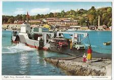 Devon; Higher Ferry Dartmouth PPC By John Hinde, 1970 PMK, Cars Inc A40, Imp, P5
