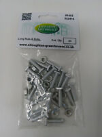 20 Long 22mm Aluminium Greenhouse Nuts & Bolts Elite Greenhouses nuts and bolts