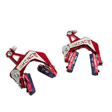 KCNC CB9 Road Bike Bicycle Cycling Brake Calipers Front & Rear Set - Red