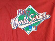 St. Louis Cardinals Windbreaker XL World Series 1987 Mens Vintage DeadStock
