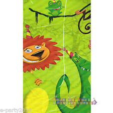 JUNGLE FROLIC PLASTIC TABLE COVER ~ Safari Birthday Party Supplies Decorations