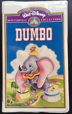 Disney Dumbo VHS Masterpiece Collection Edition Tape Hi-Fi Digitally Mastered