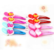 Chic 4 Pcs Assorted Resin Hairpin for Kids Hair Clips cartoon Random Pattern AJR