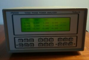 Voltech PM300 Three Phase Power Analyzer DC to 250kHz Bandwith 1000Vpk/20A