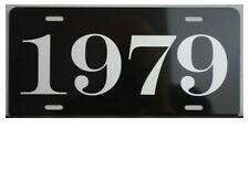 1979 YEAR METAL LICENSE PLATE CHEVY PLYMOUTH DODGE PONTIAC MUSTANG FORD BUICK