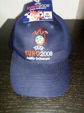 Uefa Euro 2008 Austria Switzerland Cap Hat Authentic New Soccer